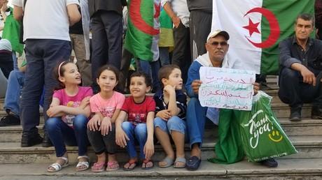 Manifestation contre le pouvoir en place à Alger, le 10 mai 2019 (image d'illustration).