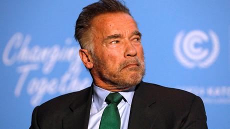 Afrique du Sud : Arnold Schwarzenegger victime d'un coup à pieds joints dans le dos (VIDEO)