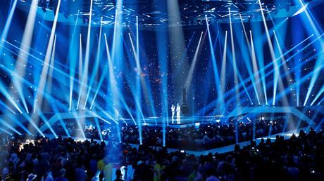 Scène du concours de l'eurovision, le 18 mai 2019 (image d'illustration)
