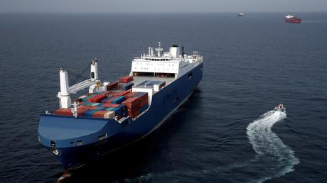 Le Bahri-Yanbu le 10 mai 2019 au large du Havre (image d'illustration).