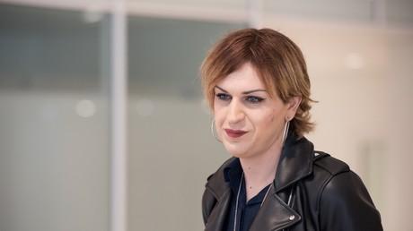 Julia Boyer le 22 mai 2019 dans l'enceinte du tribunal correctionnel de Paris (image d'illustration).