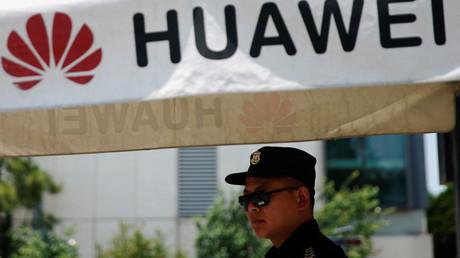 Centre de recherche de Huawei à Shanghai, en Chine, le 22 mai 2019.