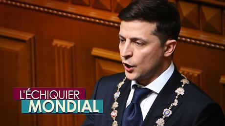L'ECHIQUIER MONDIAL. Ukraine : le comédien élu président