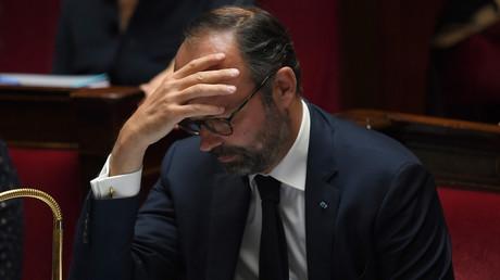Edouard Philippe le 14 mai 2019 sur les bancs de l'Assemblée nationale réservés aux membres du gouvernement (image d'illustration).