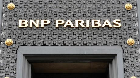 Façade de l'un des sièges de la banque BNP Parisbas (image d'illustration).