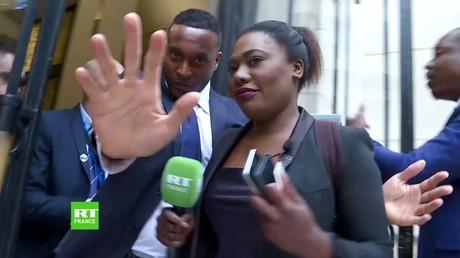 Lilaafa Amouzou,journaliste RT France, se fait recaler au QG de Renaissance