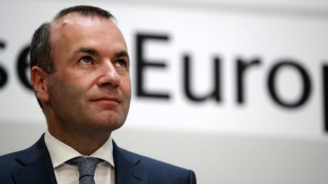 Manfred Weber, le Spitzenkandidat pressenti pour prendre la tête de la Commission européenne, le 26 mai 2019 à Berlin (image d'illustration).