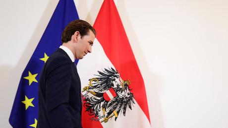 Le chancelier Kurz a été renversé par un vote du Parlement (image d'illustration).