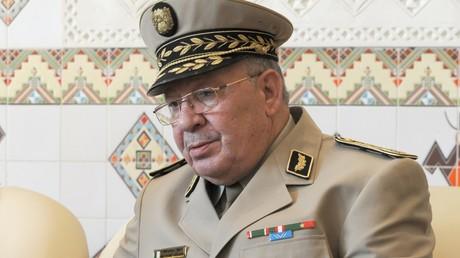 Le chef d'Etat-major de l'armée algérienne Gaïd Salah.
