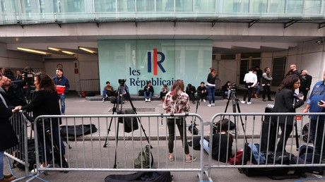 Le siège des Républicains, le 27 mai 2019, jour de bureau politique, dans le XVe arrondissement de Paris (image d'illustration).