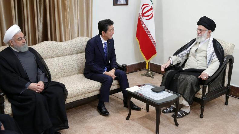 """Résultat de recherche d'images pour """"Iran, Shinzo abe, Japan Iran relations, 2019"""""""