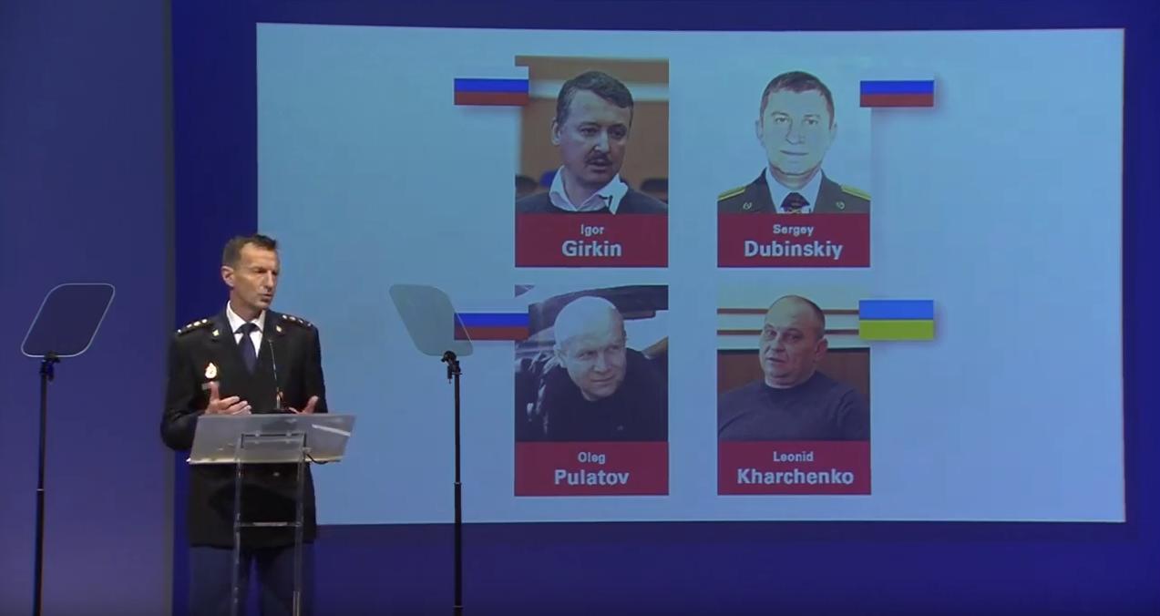 MH17 : trois Russes et un Ukrainien soupçonnés d'être «complices» de meurtre