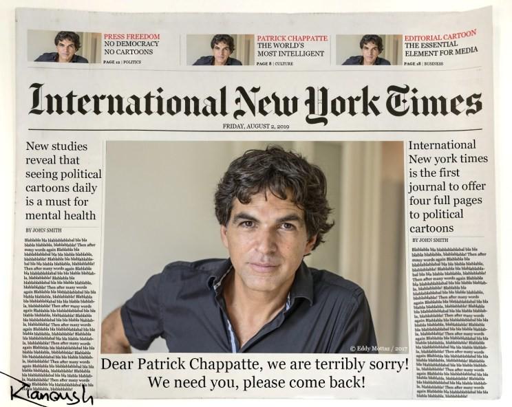 International New York Times : l'art d'être lâche, par Kianoush Ramezani