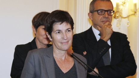 Christine Angot en 2015 (image d'illustration).