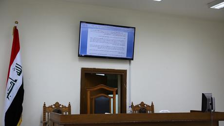 Le tribunal de Bagad où ont été jugés les 12 djihadistes le 29 mai 2019.