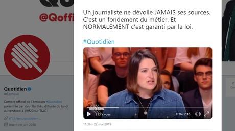 Vente d'armes françaises : pourquoi Quotidien n'a-t-il pas, à ce jour, diffusé son enquête ?