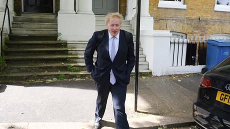 Le député conservateur Boris Johnson à Londres le 28 mai 2019.