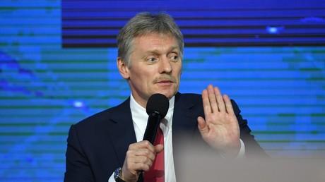 Dmitri Peskov, porte-parole de la présidence russe, en décembre 2018 à Moscou.
