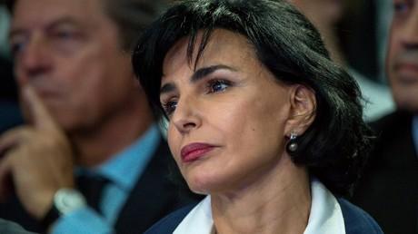 Rachida Dati, le 8 juin 2016, à Saint-André-lez-Lille (Nord), lors d'un meeting des Républicains (image d'illustration).