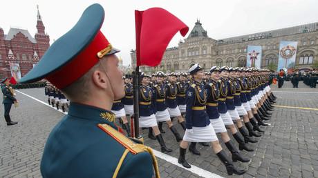 Défilé du 9 mai sur la Place Rouge