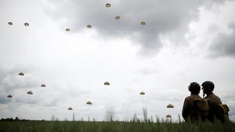 Des parachutistes lors des commémorations du 75e anniversaire du Débarquement en Normandie, le 5 juin (image d'illustration).