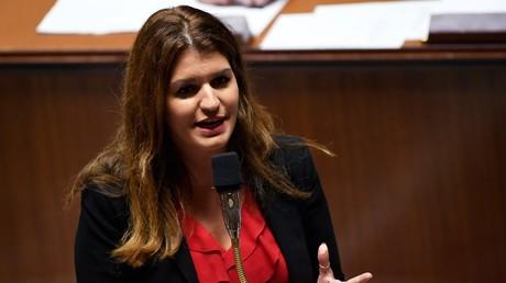 Marlène Schiappa s'exprime à l'Assemblée nationale, le 6 novembre 2018 (image d'illustration).