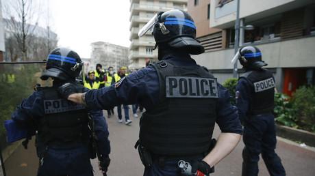 Policiers d'intervention à Lyon le 9 février 2019 à Lyon (image d'illustration).