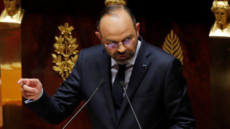 Edouard Philippe à l'Assemblée nationale le 12 juin.