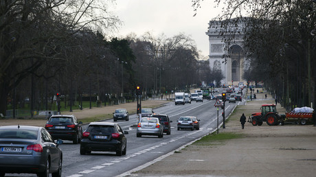 L'avenue Foch à Paris, où se situe l'appartement où se seraient déroulé les faits (image d'illustration).