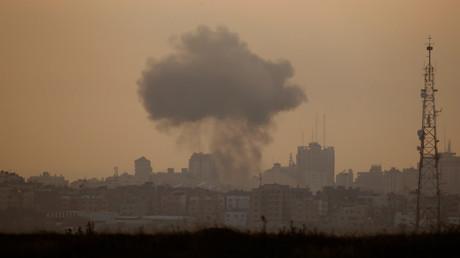 Gaza : raid israélien contre une position du Hamas, un blocus maritime décrété