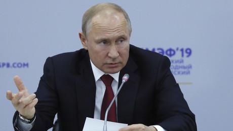 Vladimir Poutine : «Nos relations avec Washington se détériorent»