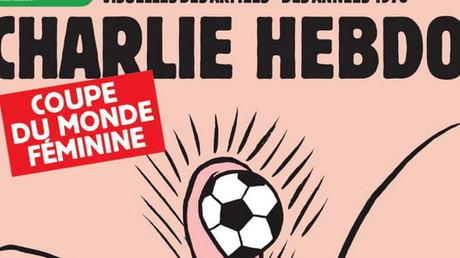 Coupe du monde de football féminin : la Une de Charlie Hebdo divise (VIDEO)