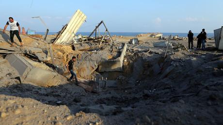 Israël frappe Gaza pour la seconde nuit d'affilée