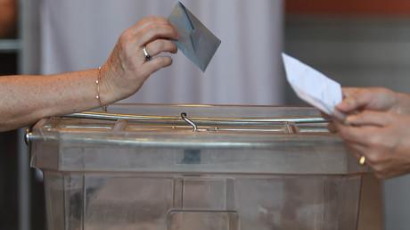 Un bureau de vote de Strasbourg, le 26 mai 2019, lors du scrutin des européennes (image d'illustration).
