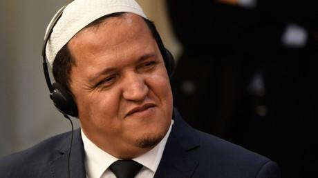 Hassen Chalghoumi, en janvier 2019 (image d'illustration).