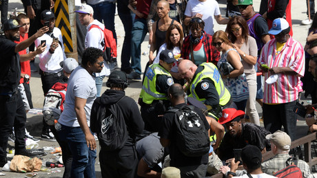 Canada : mouvement de foule à Toronto après la victoire des Raptors (VIDEOS)