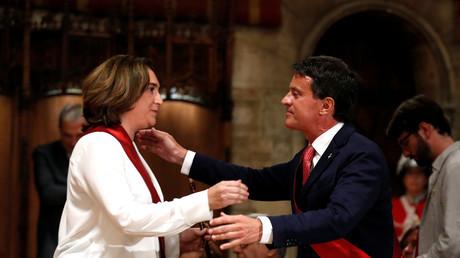 Les centristes espagnols abandonnent Valls à cause de son soutien au maire barcelonais de gauche