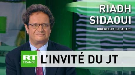 Riadh Sidaoui, directeur du CARAPS, commente sur RT France,  l'accord de libre-échange entre l'Union européenne et la Tunisie .