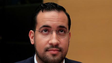 Alexandre Benalla, en audience au Sénat, le 19 septembre 2018.