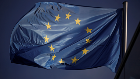 Drapeau de l'Union européenne (image d'illustration)
