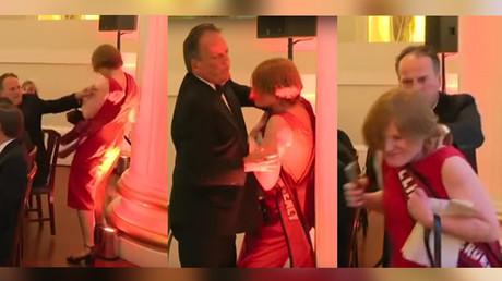 Filmé en train de molester une militante de Greenpeace, un secrétaire d'Etat britannique suspendu