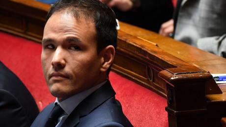 Le secrétaire d'Etat au Numérique Cédric O à l'Assemblée nationale à Paris le 2 avril 2019.