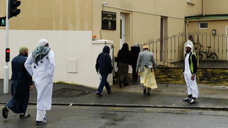 Entrée de la mosquée Sunna de Brest, le 15 avril 2016. (image d'illustration)
