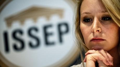 Marion Maréchal, le 22 juin 2018, à l'ISSEP, à Lyon (image d'illustration).