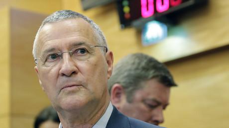 Patrick Strzoda lors de son passage devant la commission des lois de l'Assemblée nationale le 24 juillet 2018 à propos de l'affaire Benalla (image d'illustration).