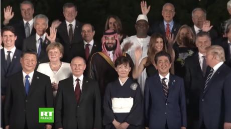 Une journée de chef d'Etat au G20 d'Osaka