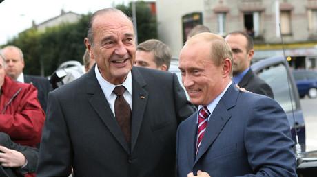 Vladimir Poutine fait l'éloge de Jacques Chirac, «un homme riche en savoir»