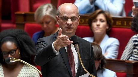 Jean-Michel Blanquer à l'Assemblée nationale le 2 juillet 2019.
