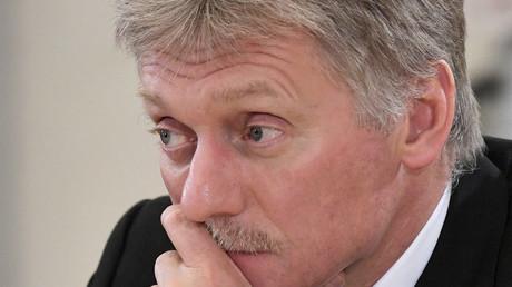 Le porte-parole du Kremlin, Dmitri Peskov, le 6 juin 2019 à Saint-Pétersbourg (image d'illustration).