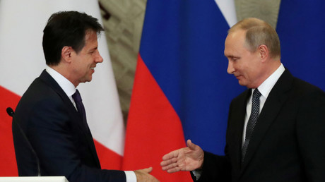 Poutine à Rome : l'Italie, toujours un pied dans l'UE mais la tête déjà en Russie et en Chine